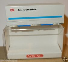 RARE MICRO WIKING HO 1/87 TRANSPORTEUR CONTAINER DB GUTERKRAFTVERKEHR IN BOX
