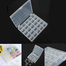 Boîte De Rangement Pour Canette Vide Machine à Coudre Plastique Fil Bobbin Box