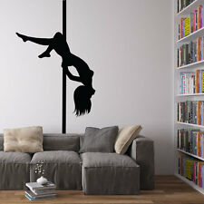 Pole Dancer Vinyl Wall Art Decal for Home Decor / Interior Design / Bedroom /...