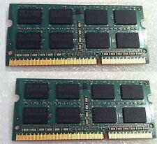 Macbook Pro 13 A1278 2011 RAM Memory DDR3 PC3 8 GB 2X4GBSticks=8GB Used
