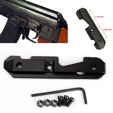 Side Rail Gun Scope Mount Dovetail Fits Stamped or Milled Receiver Tactical New