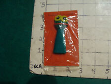 1966----FINGER PUPPETS--Duncan-Youree original in bag #7----Another FROG