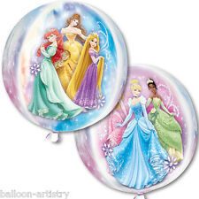"16 ""ELEGANTE DISNEY PRINCESS Stile Party Globe ORB BALL Shape Foil Balloon"