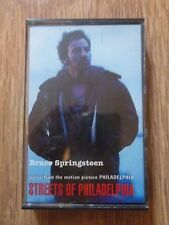 BRUCE SPRINGSTEEN - STREETS OF PHILADELPHIA - SINGLE CASSETTE ALBUM 2 TRACKS