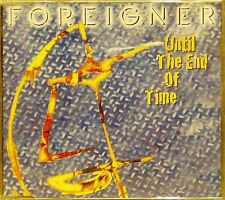 FOREIGNER 'UNTIL THE END OF TIME' 3-TRACK CD SINGLE