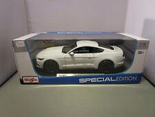 MAISTO 1/18 SPECIAL EDITION WHITE 2015 FORD MUSTANG GT NEW IN BOX **LAST ONE**