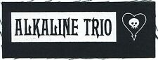 ALKALINE TRIO goddamnit maybe CLOTH PATCH **FREE SHIPPING** sew on