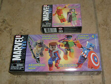 Minimates IRON MAN DOOM UNMASKED SPIDERMAN DOC OCK CAPTAIN AMERICA ABSORBING MAN