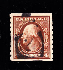 US 395 4c Washington Used VF SCV $70 (-001)