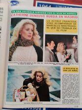 CATHERINE DENEUVE MARCELLO MASTROIANNI EN ESPAÑA LUIS BUÑUEL FERNANDO REY