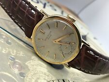 VINTAGE PATEK PHILIPPE 18K MEN WRIST WATCH