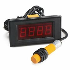 "DROK® 0.56""Red LED Display Digital Tally Counter 0-9999 Up Down Counter Counter"