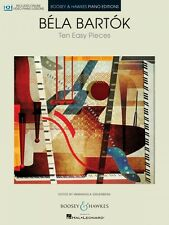 Ten Easy Pieces for Piano - With Online Video Piano Lessons Piano Book 048023607