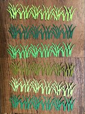 12 Tall Grass Border Impression Obsession Die Cuts Scrapbooking, cards, Easter