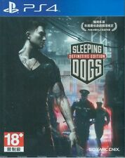 Sleeping Dogs: Definitive Edition HK Chinese subtitle Version Eng Voice PS4 NEW