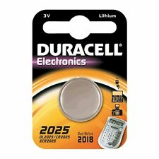 2 BATTERIES CR2025 / DL2025 DURACELL 3V LITHIUM DLC 2021
