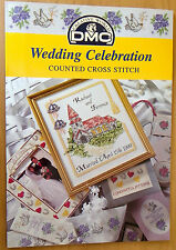 DMC Cross stitch pattern book Wedding Celebration