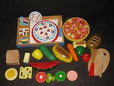 WALDORF MONTESSORI Melissa & Doug Pretend Kitchen Food Preschool  Daycare Toy