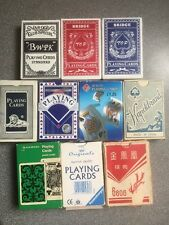 BARGAIN LOT 10 decks playing cards some sealed, mostly unplayed, lots of jokers
