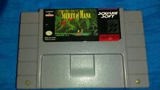 Secret of Mana (Super Nintendo SNES, 1993) **EXCELLENT CONDITION**TESTED**