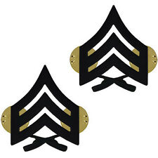 Vanguard USMC Marines Sergeant Sgt E-5 Chevrons metal 1 PAIR