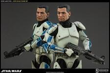 STAR WARS~CLONE TROOPERS~ECHO & FIVES~SIXTH SCALE FIGURE SET~SIDESHOW~MIB