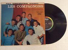LES COMPAGNONS De La Chanson vinyl LP Capitol ST-10227 archive MINT