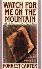 Watch for Me on the Mountain Carter, Forrest Paperback