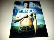 "KYLE XY PP SIGNED 12"" X 8"" INCH POSTER MATT DALLAS"