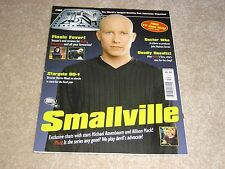 SMALLVILLE * MICHAEL ROSENBAUM * ALLISON MACK * DOCTOR WHO #152 TV ZONE MAGAZINE