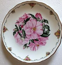 The Queen Mothers favourite flowers Royal Albert Collectors plate Camellia