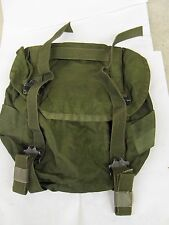 Vintage Army Military Canvas Thick Leather Ammo Shoulder Messenger Bag