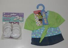 """Springfield Doll 18"""" clothes lot Skirt Top & shoes. Fits"""
