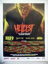 PUBLICITE-ADVERTISING :  HELLFEST (1)  2010 Kiss,Immortal,Twisted Sister…
