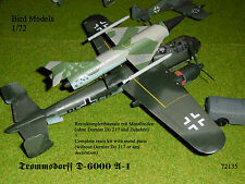 Trommsdorff D-6000 A-1         1/72 Bird Models Resinbausatz / resin kit