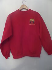 AMERICAN UNION APPAREL Women's Sweaters Size-M Crewneck Red Very Good!
