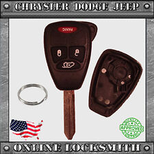 New Remote Key Replacement Case Shell + 4 Button Chrysler Dodge Jeep OHT692427AA