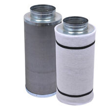 "6"" 450CFM Hydroponic Air Carbon Filter Odor Control Scrubber for Inline Exhaust"