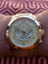 Michael Kors Runway Chronograph MK8077 Gold-tone Wristwatch