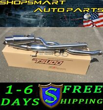 SCION TC 2013 TSUDO S2 PERFORMANCE CATBACK EXHAUST SLANTED MUFFLER