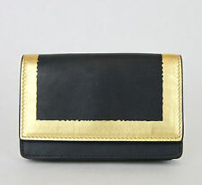 NEW BOTTEGA VENETA Leather Card Holder Wallet Coin Purse Black 133945 4080