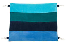 "PET HAMMOCK ""Aqua Stripes""  40x50cm for ferrets, rats, chinchillas, guinea pigs"