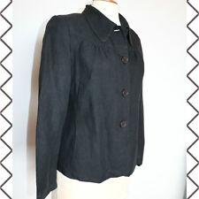 Magnifique veste LIN noire  COMPTOIR DES COTONNIERS   taille 40 tbe!
