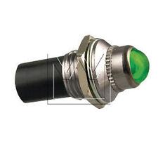 MONARK 12V LED KONTROLL - SIGNAL LEUCHTE KONTROLLLAMPE GRÜN / INDICATOR LIGHT