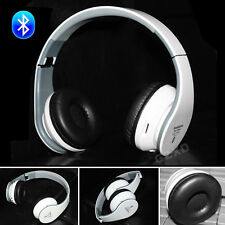 Foldable Wireless Stereo Bluetooth Headset Headphones +Mic For iPhone Samsung AU
