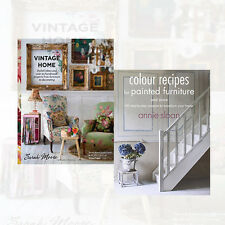 Vintage Home 2 Books Collection Set Colour Recipes for Painted Furniture, New