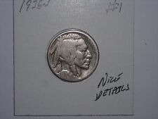 BUFFALO NICKEL 1936S INDIAN HEAD 5 CENT 1936-S LOT #1 NICE DETAILS