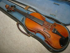 """Interesting  old violin Violon """"F.V. Halouzka tisnov 1936"""""""
