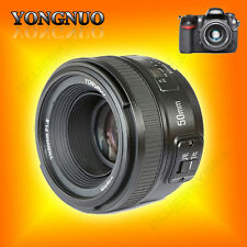 Yongnuo YN 50mm F1.8 1:1.8 Standard Prime Lens Auto Manual Focus AF MF for Nikon