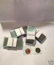 SUPERSAFE 2X2 VINYL COIN FLIPS  W/ INSERTS   ARCHIVAL QUALITY/ 25CT